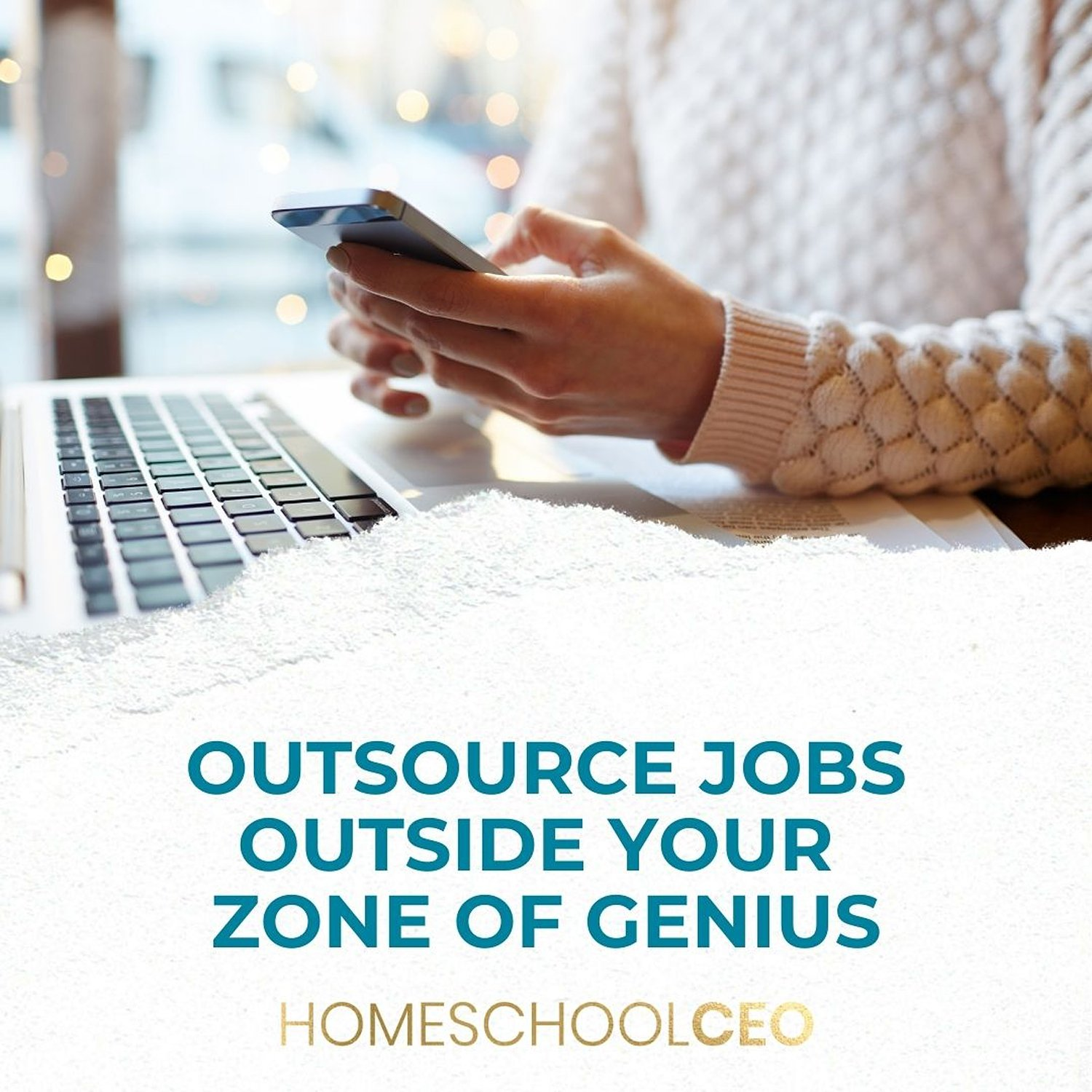 Outsource tasks outside of your Genius Zone